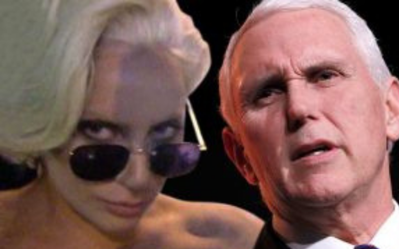 Gaga, Pence, and Christianity